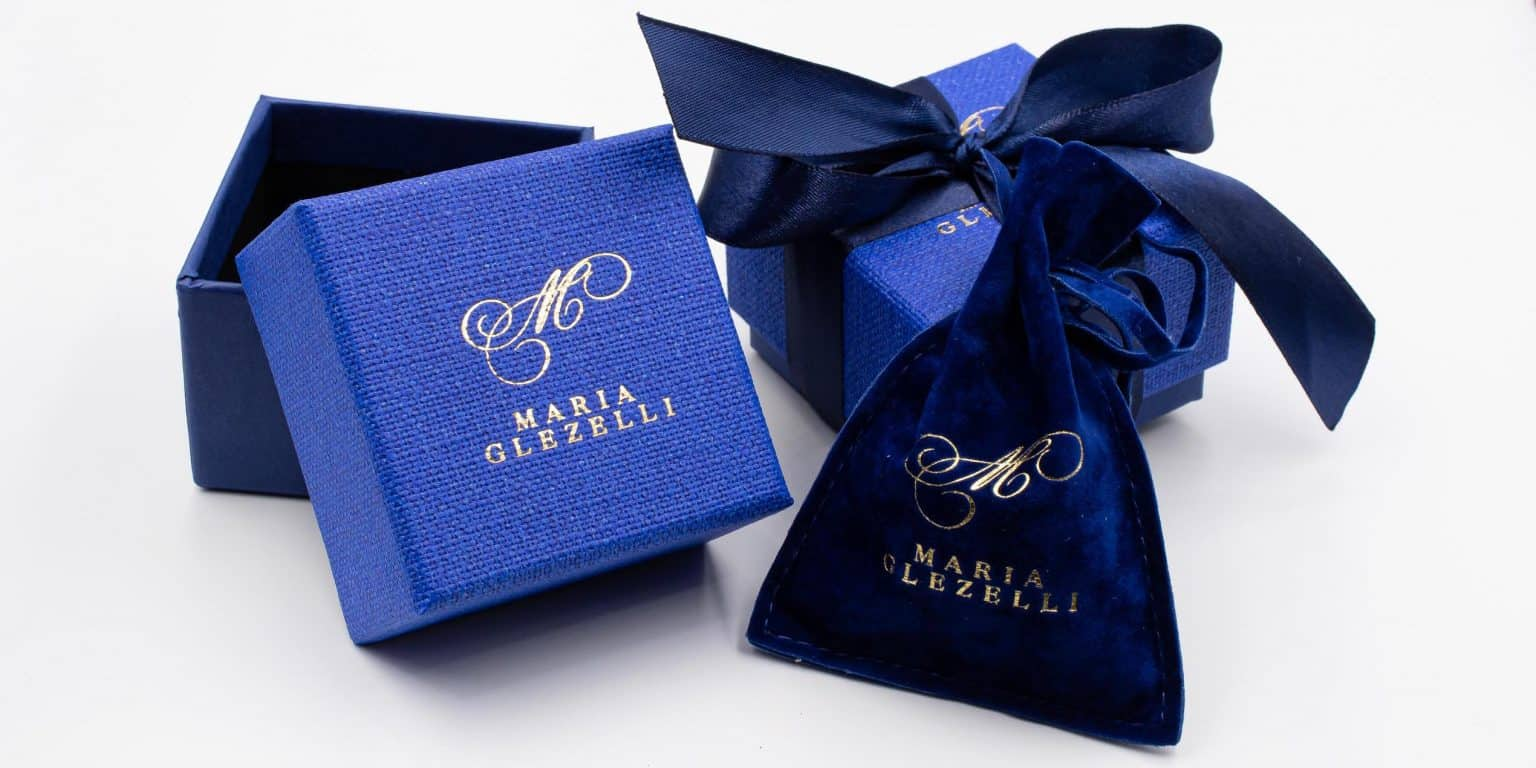 made in Italy blue boxes for packaging